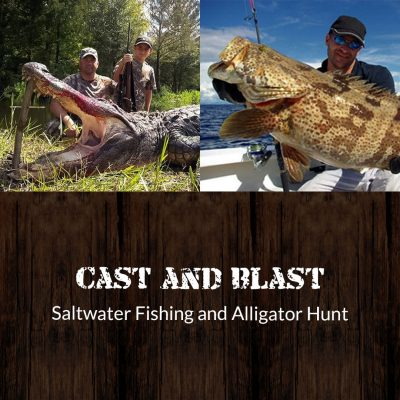 saltwater fishing and alligator hunt featured photo