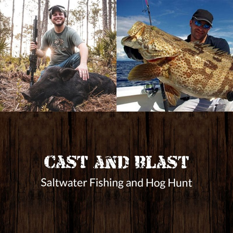 saltwater fishing and hog hunting featured photo